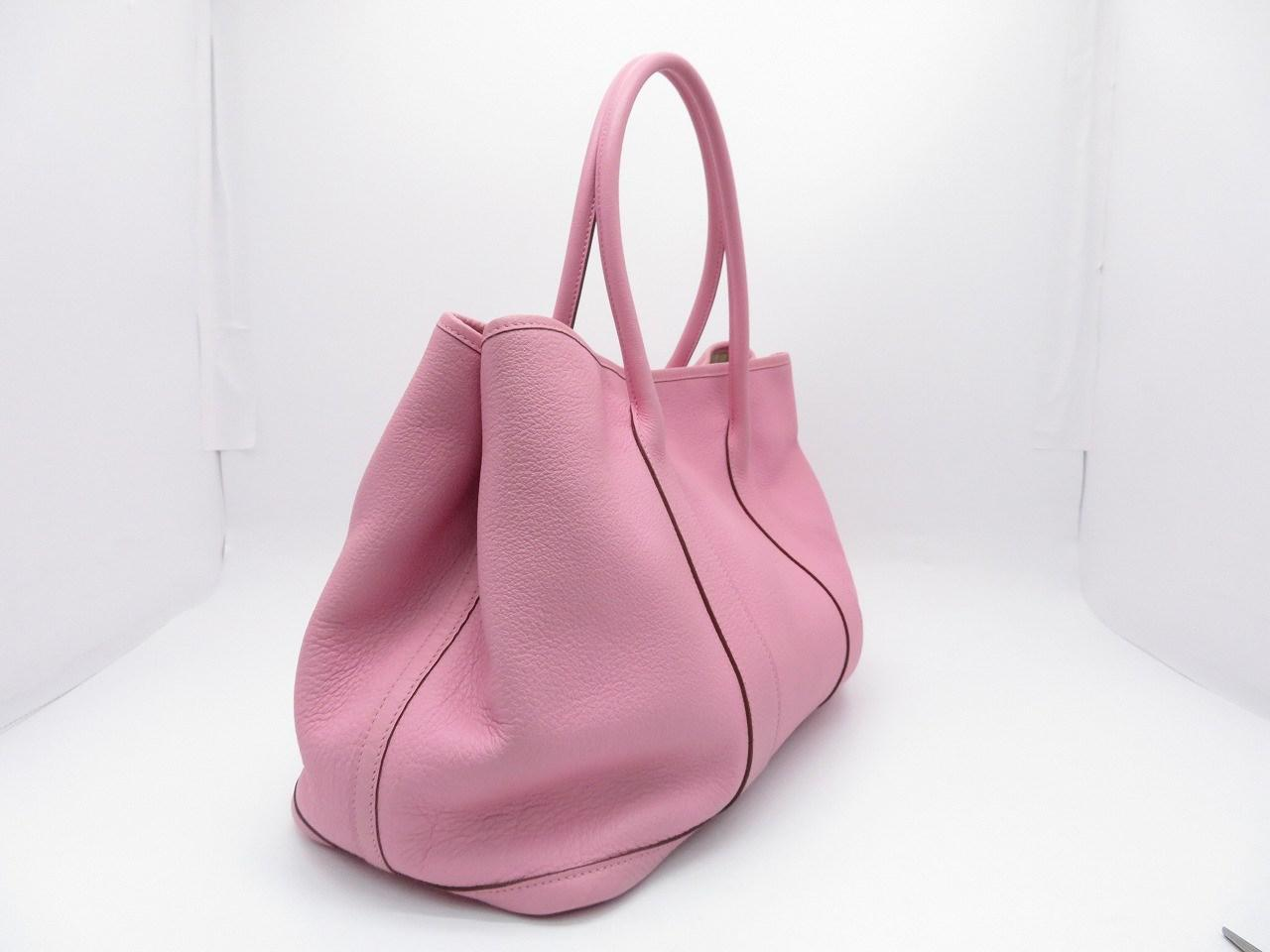 Lyst - Hermès Negonda Leather Garden Party Pm Tote Bag Handbag Rose ... 9efb029651