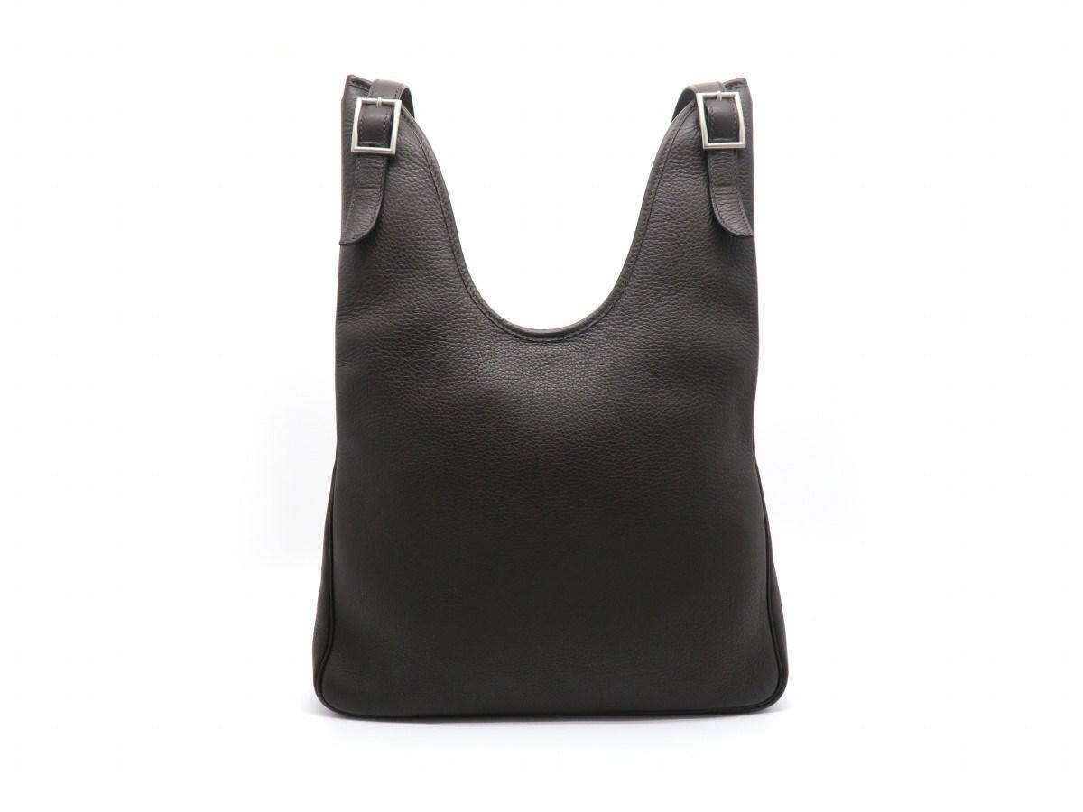 5a97cbf491e3 Lyst - Hermès Taurillon Clemence Leather Masai Pm Shoulder Bag ...