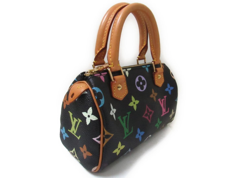 Lyst - Louis Vuitton Mini Speedy Handbag Bag Monogram Multicolor ... b61640726fb44