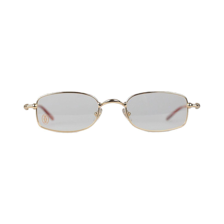 a142d5bac4f9 Lyst - Cartier Paris Sadir Gold Full Rimmed Eyeglasses T8100586 49 ...