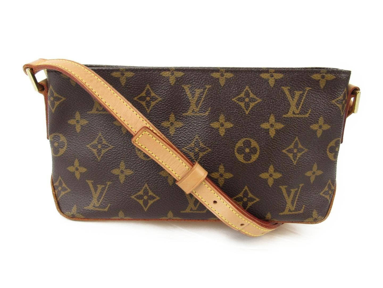 7ca36b292c11 Lyst - Louis Vuitton Trotteur Shoulder Bag Monogram Canvas M51240 in ...
