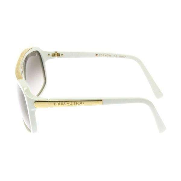 045582a5a6 Lyst - Louis Vuitton Sunglasses White in White