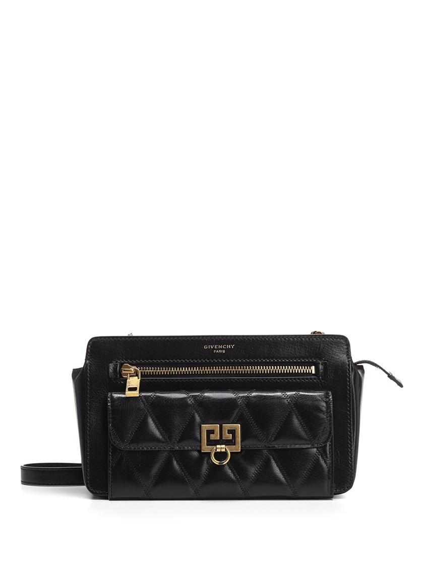 70a9953851 Givenchy. Women s Crossbody Bags Fw18 Pocket Crossbody Bag In Black Leather