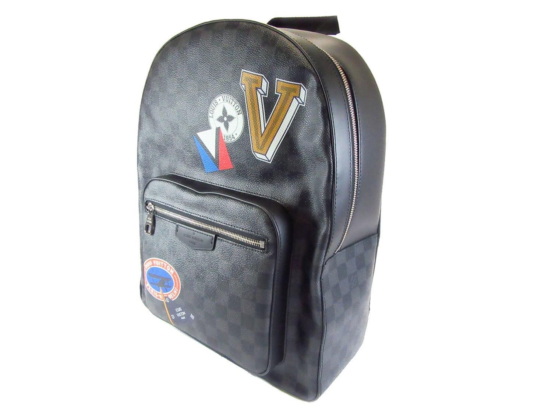 fe24c071e56c1 Lyst - Louis Vuitton Damier Graphite Josh Backpack Ruckshck N64424 ...