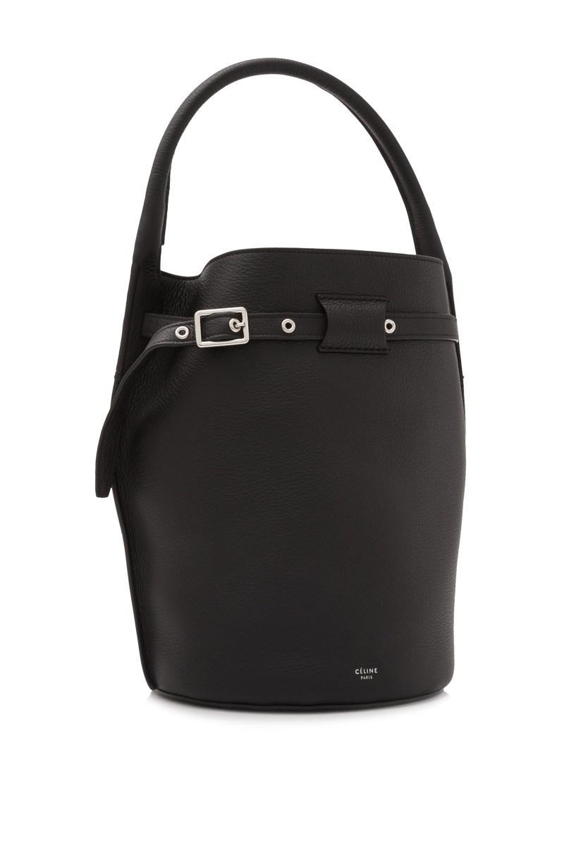 Lyst - Céline Céline Big Bag Bucket in Black dfa4592e91aad