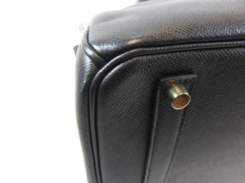 50f979e08c36c Lyst - Hermès Birkin 35 Hand Bag Black Veau Graine Courchevel ...