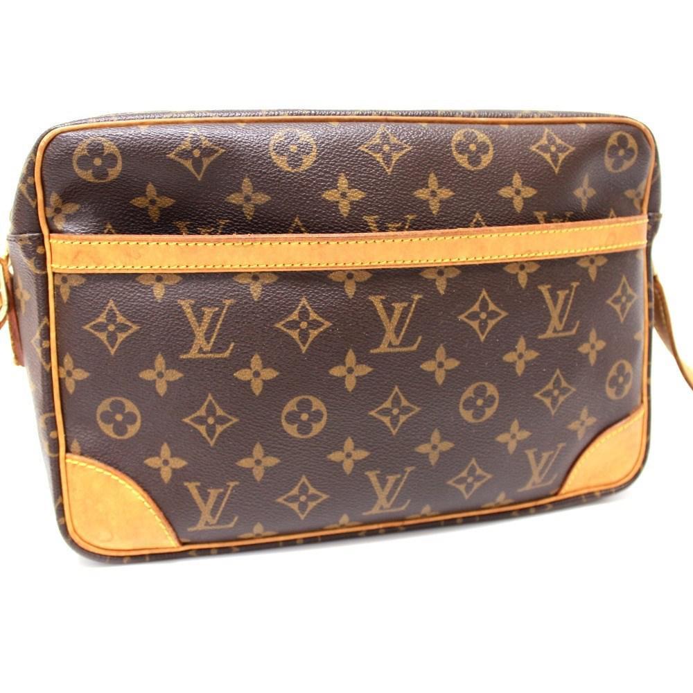 1aad12663d5c Lyst - Louis Vuitton Monogram Trocadero 30 Crossbody Men s Women s ...