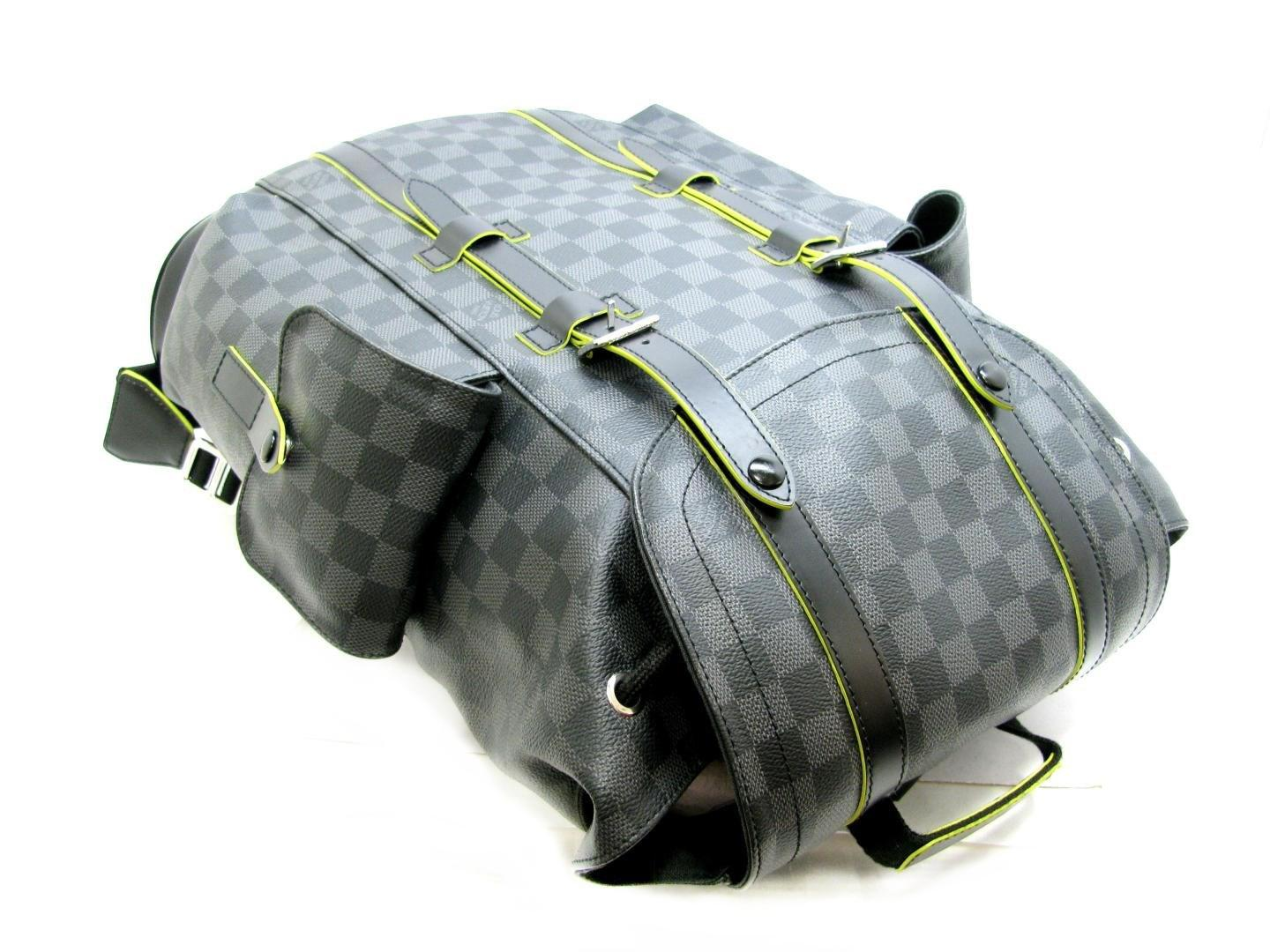52d078782784 Lyst - Louis Vuitton Auth Christopher Pm Backpack N41574 Black ...
