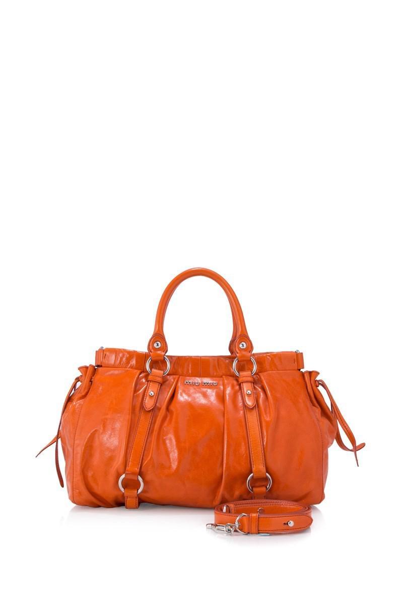 Miu Miu Pre-owned - Orange Clutch bag AKhfq