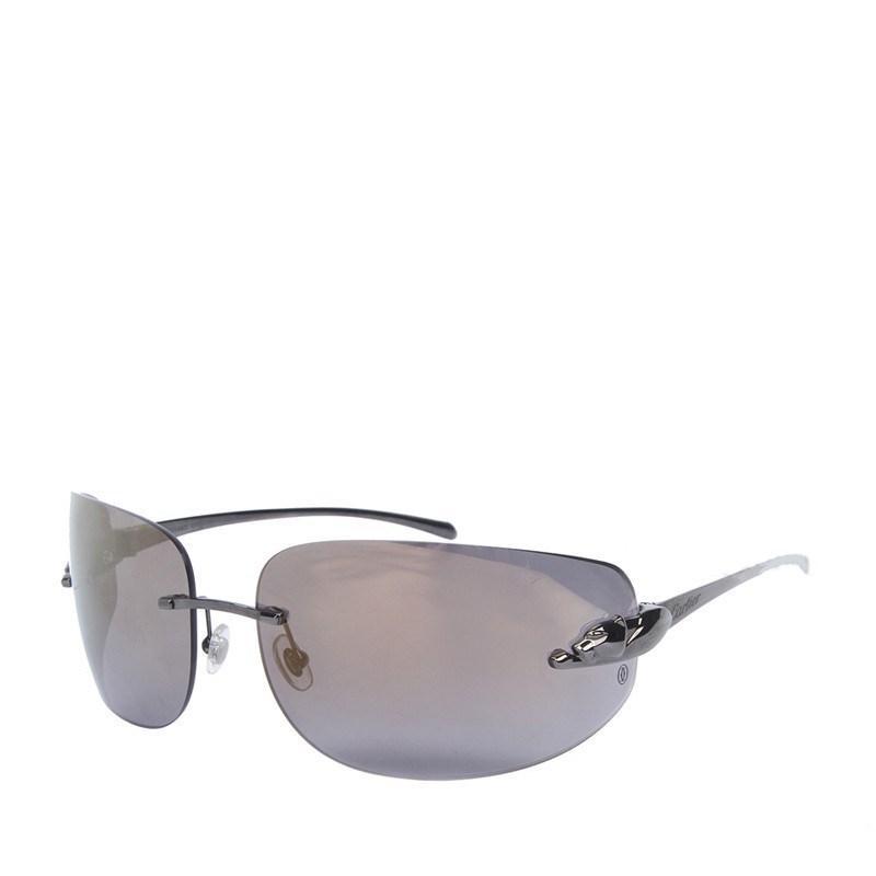 8e831c6a8948 Lyst - Cartier Men s Sunglasses Black ( t8200881) in Black for Men