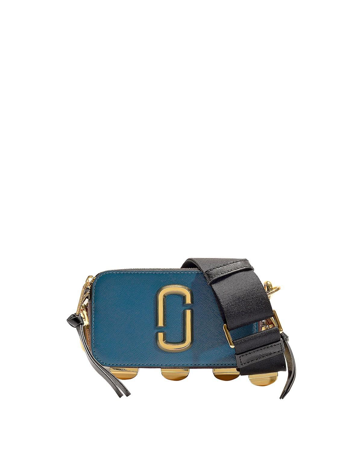 9f714b7c140c marc-jacobs-Blue-Snapshot-Studs-Camera-Bag -In-Multicolor-Petrol-Blue-Polyurethane-Coated-Calfskin.jpeg