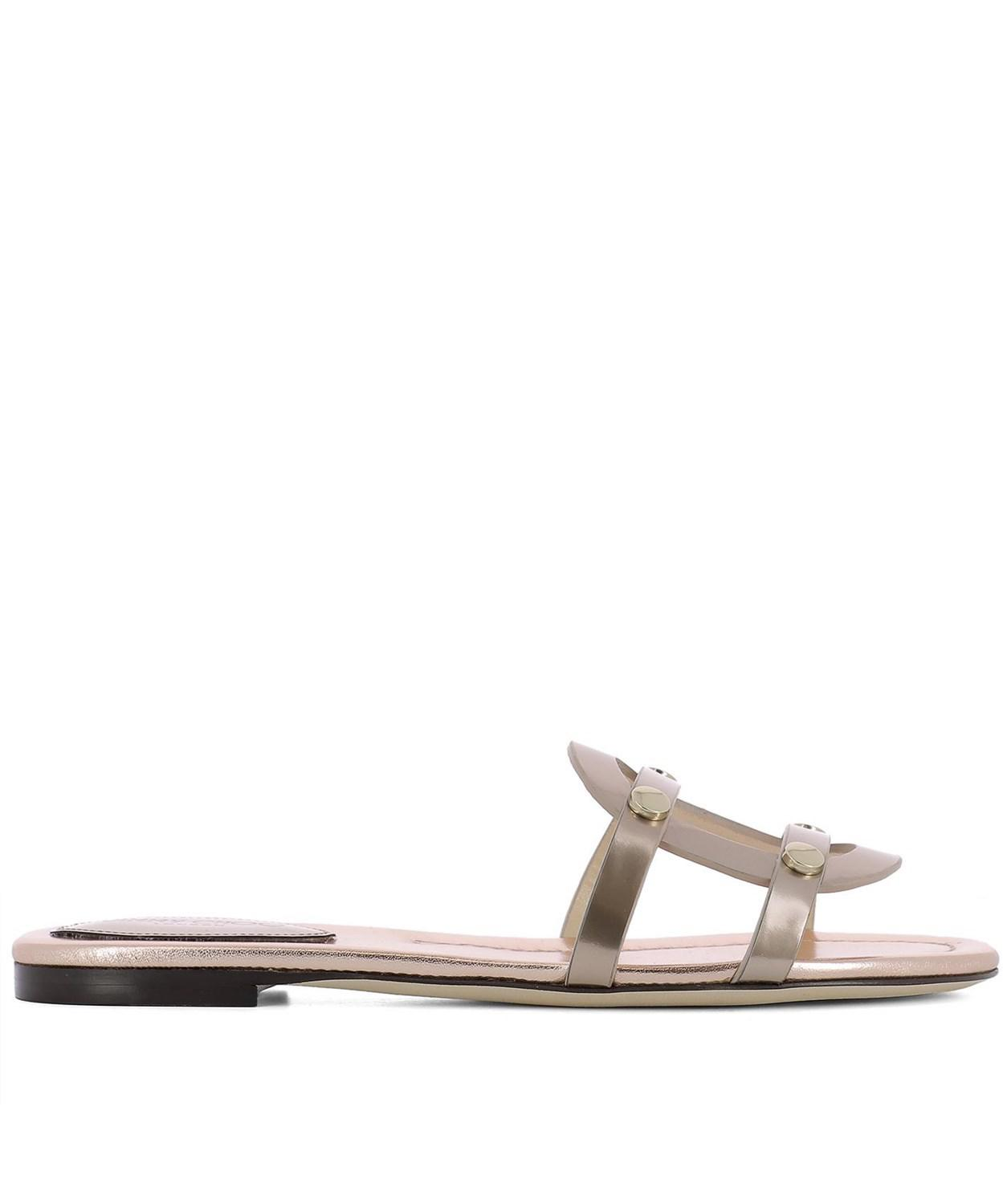 00c444b22ad6fd Lyst - Jimmy Choo Women s Pink Leather Sandals in Pink