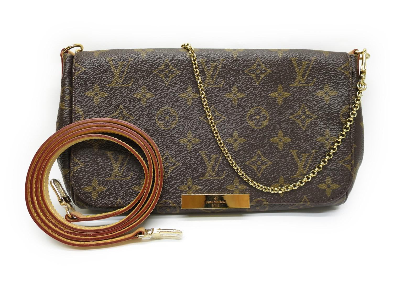 f9d1a3411e6b Lyst - Louis Vuitton Monogram Favorite Mm Hand Bag Shoulder Bag ...
