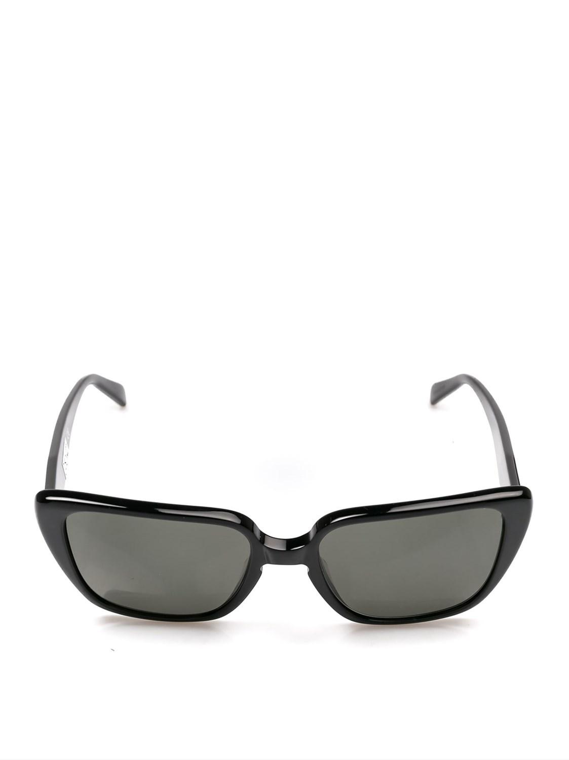 c5c96c554246 Lyst - Céline Céline Women s Cl40047i01n Black Acetate Sunglasses in ...