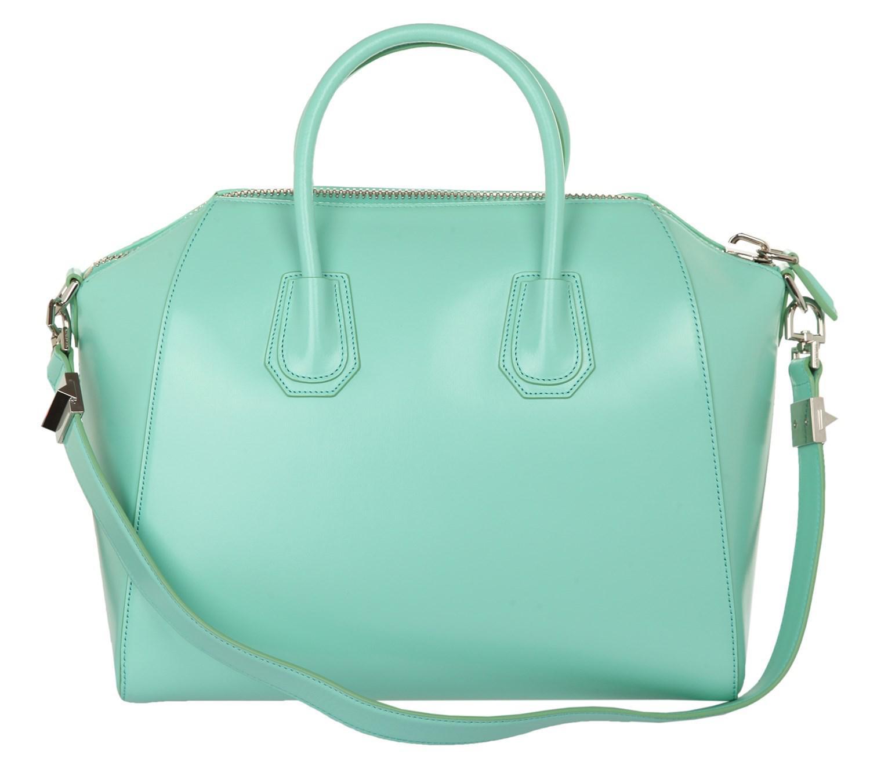 b176cb93cc32 Lyst givenchy medium antigona bag in mint green shiny leather in green jpg  1500x1319 Givenchy medium