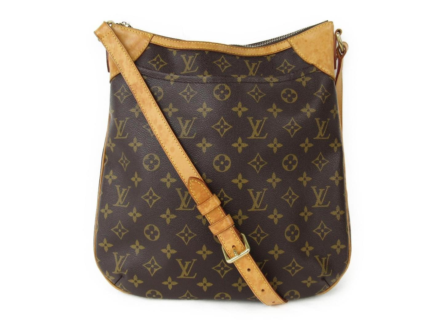afea05e6afd5 Lyst - Louis Vuitton Odeon Mm Shoulder Bag Monogram Brown M56389 in ...
