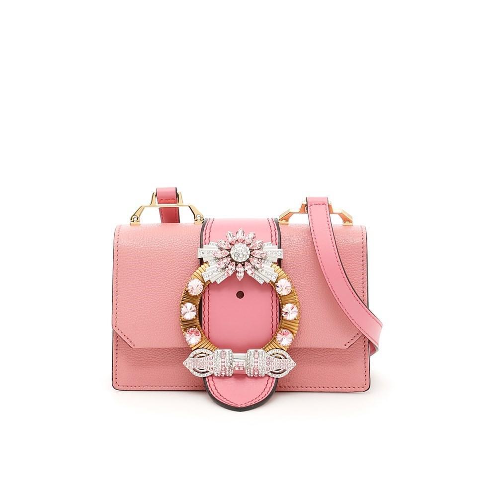 Lyst - Miu Miu Shoulder Bags Rosa 1 in Pink 32f94a96fae38