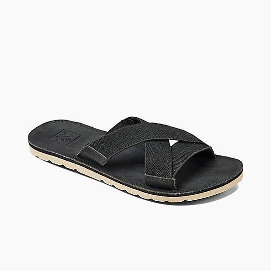 8e7622f546f8 Lyst - Reef Women s Voyage Slide in Black