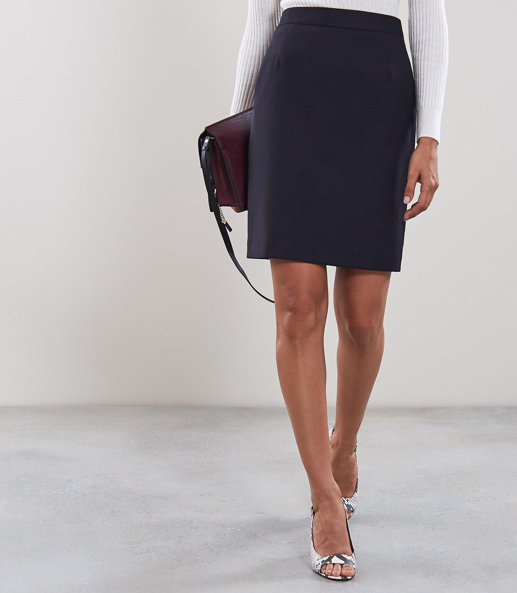 2b25f5889b Reiss Fenton Skirt - Tailored Pencil Skirt in Blue - Lyst