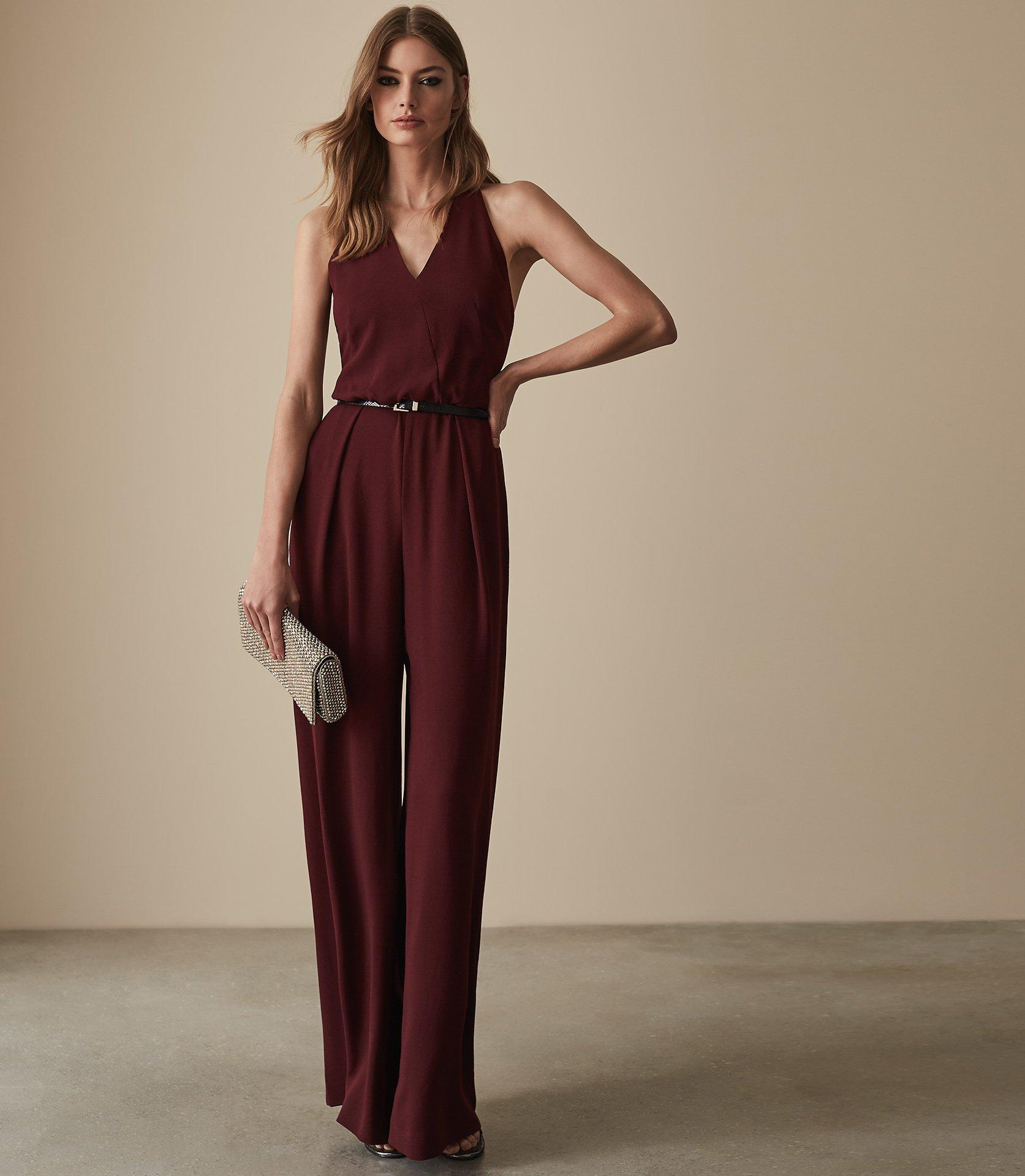 6627f14abfb Reiss. Women s Kadie - Beaded Strappy Jumpsuit