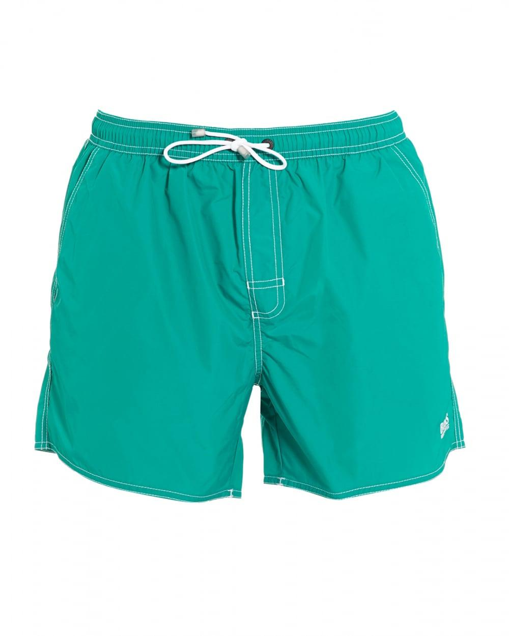 a864df74bf BOSS Lobster Short Aqua Blue Swim Shorts in Blue for Men - Lyst