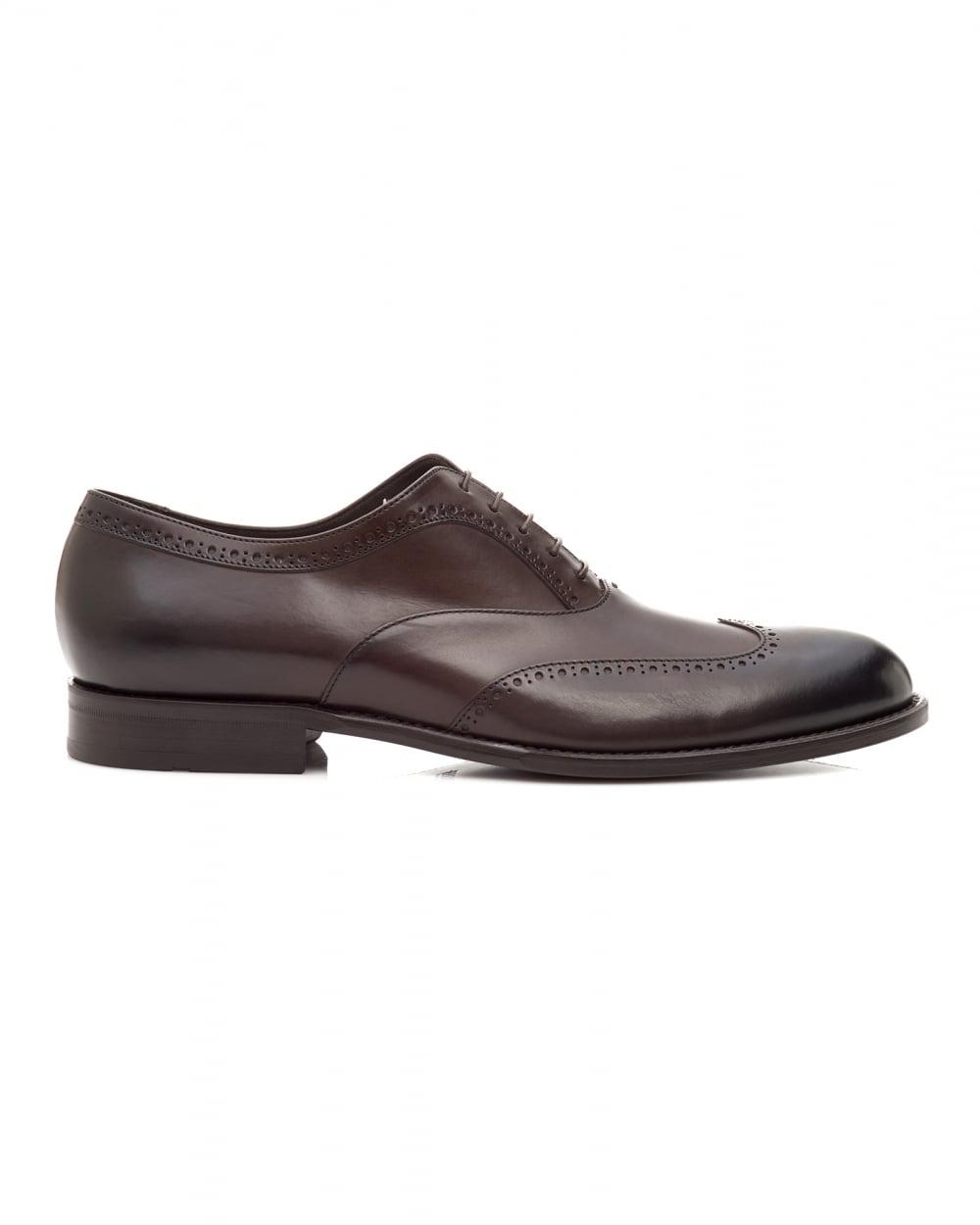 Oxford shoes in smooth leather BOSS fx76h4bno