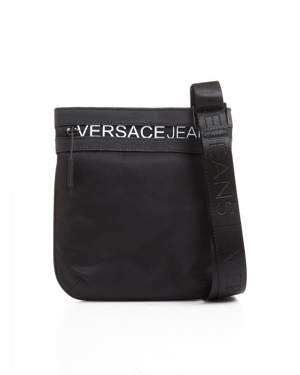 0fd00069dcf lyst armani jeans logo flight bag in black for men finest selection b0bfe  c51ff