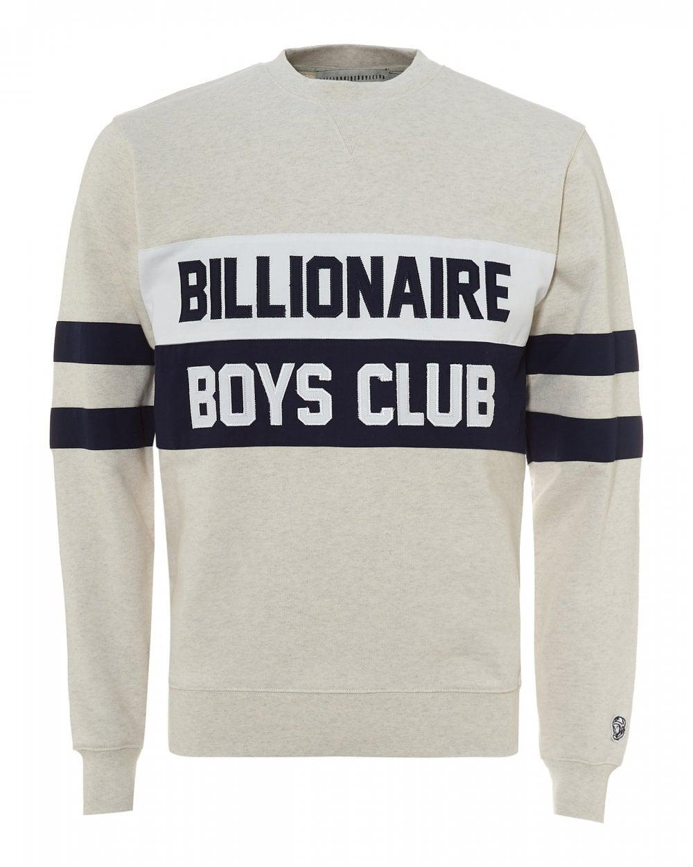 9d9a3a8b148 BBCICECREAM. Men s Varsity Cut And Sew Sweatshirt ...