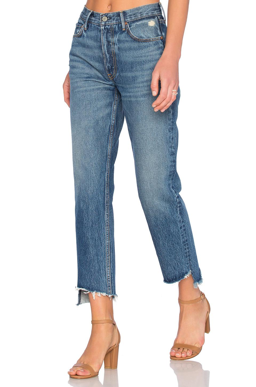 2bddd25a7b62 GRLFRND. Women s Helena Straight Leg Jean
