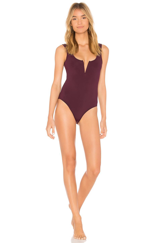 efc52a7bfa4 Beth Richards Ines One Piece Swimsuit in Purple - Lyst