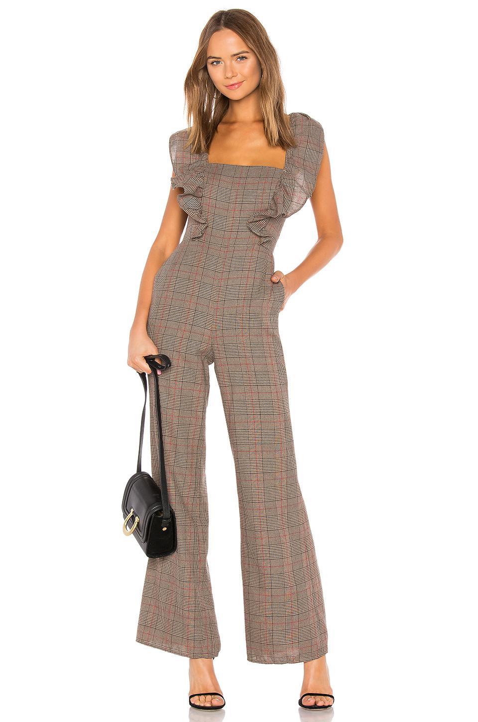 2ae37baca076 Tularosa - Brown Piper Jumpsuit - Lyst. View fullscreen