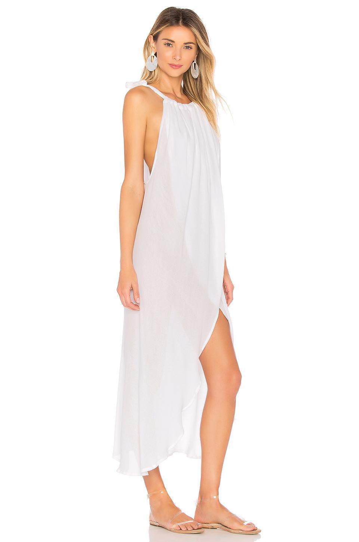 827a2ca6e8 Indah - White Karma Maxi Dress - Lyst. View fullscreen