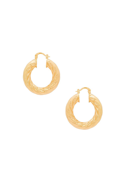 CZ Hoop Huggies in Metallic Gold Joolz by Martha Calvo 0gZA1WqXdG