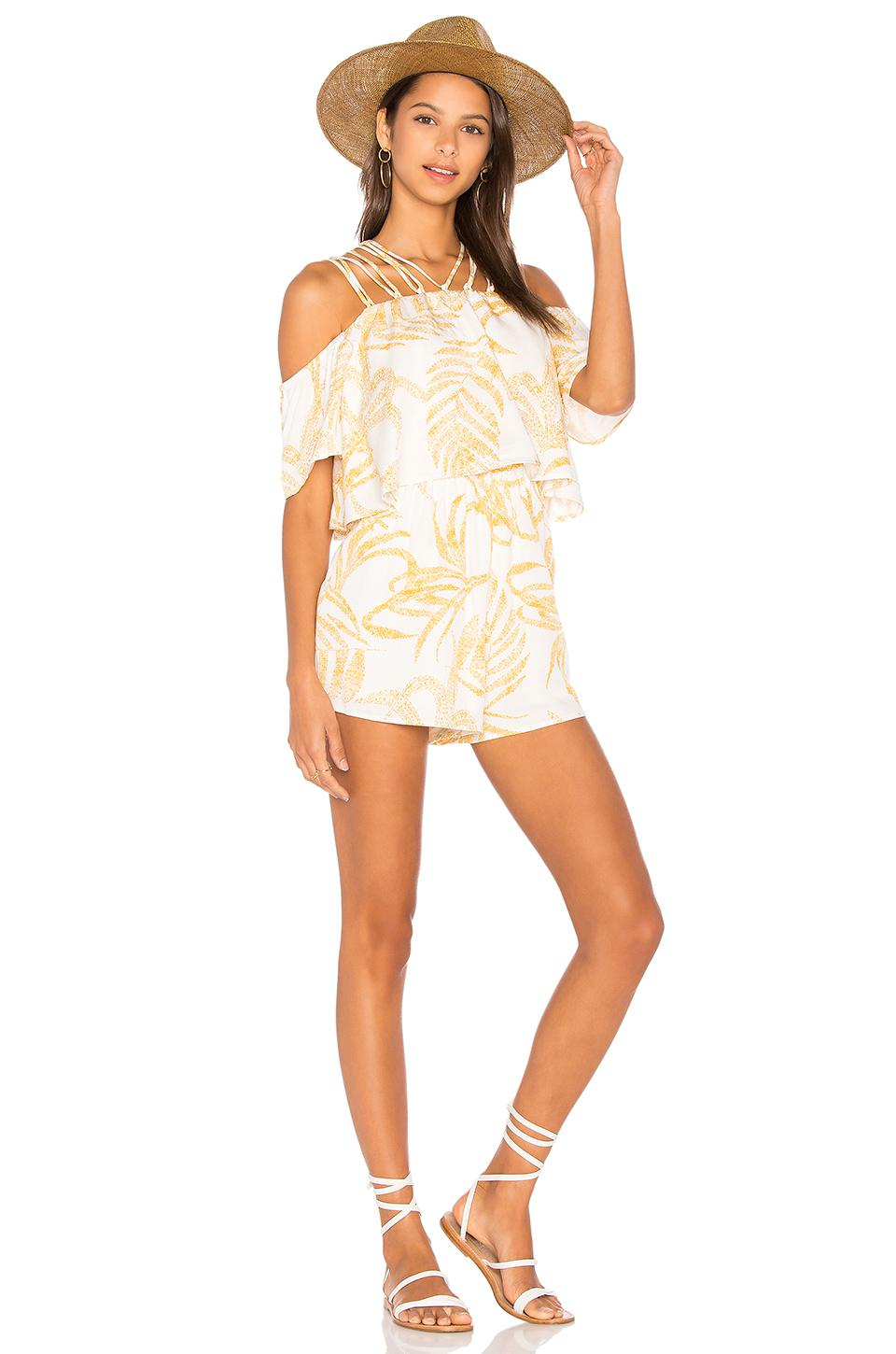 50b45036d75 Gallery. Previously sold at  REVOLVE · Women s Denim Overalls Women s Off  The Shoulder Rompers ...