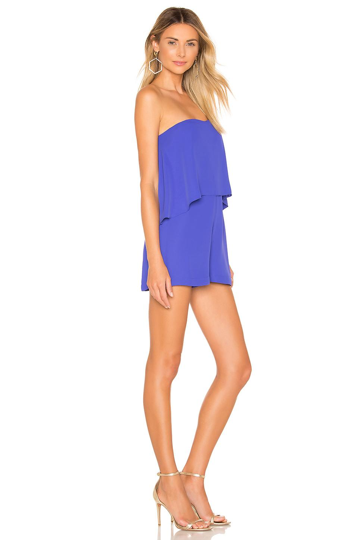 8b14ac93663 Amanda Uprichard - Blue Topanga Romper - Lyst. View fullscreen