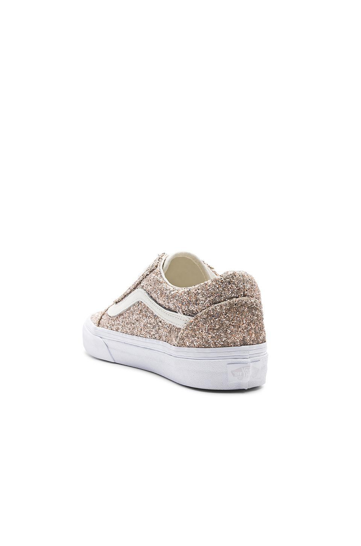 ab11ded6d1 Vans Chunky Glitter Old Skool Sneaker in White - Lyst