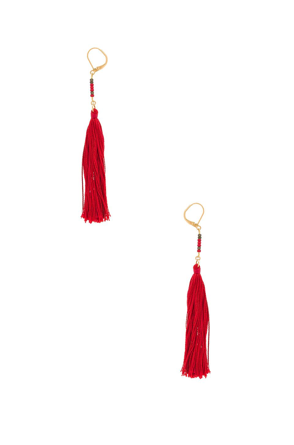 x REVOLVE Star Earrings in Red Shashi jxVPhB