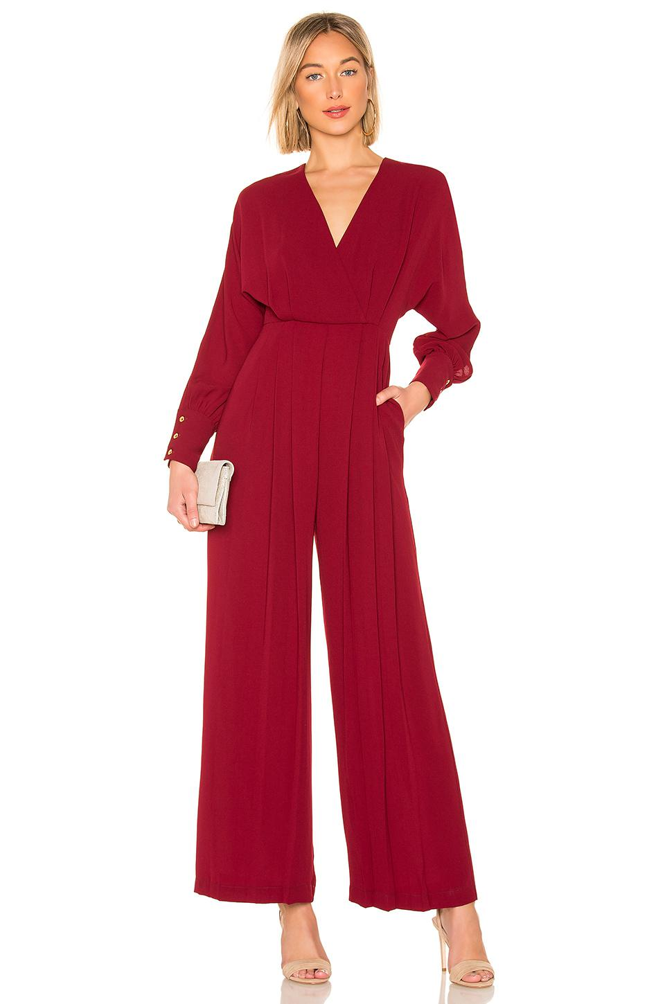 672b32160659 Donna Mizani Dean Jumpsuit in Red - Lyst