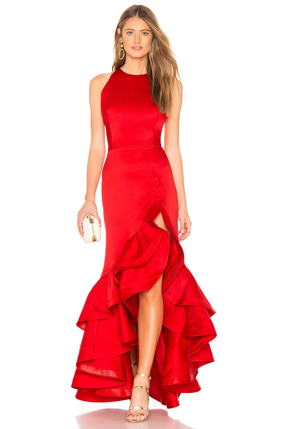 910f6e96fda9f Bronx and Banco Frida Flame Gown in Red - Lyst