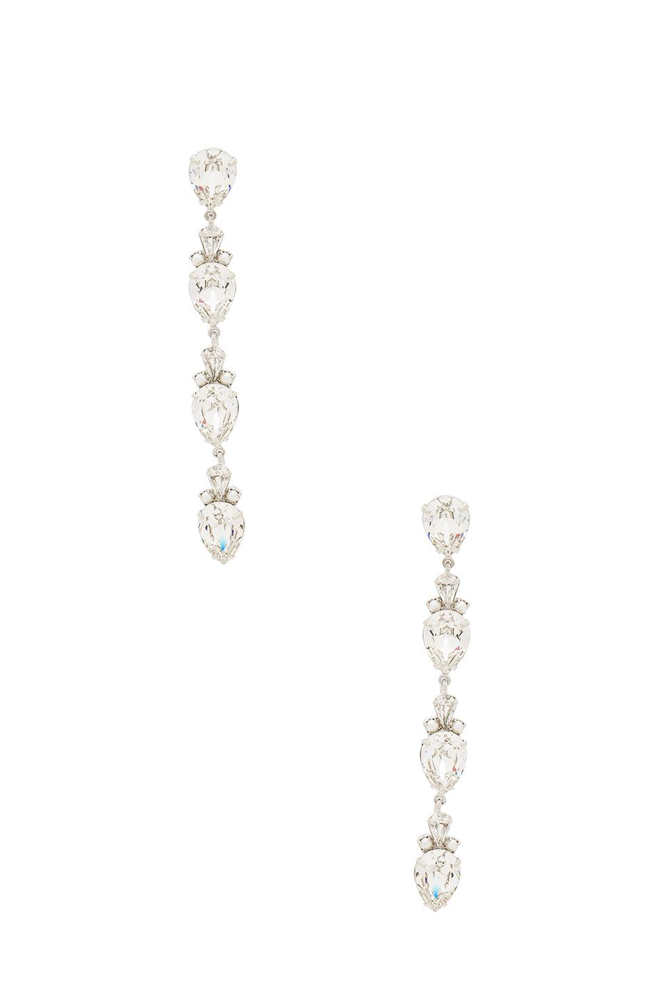 Auden Olivia Linear Crystal Drop Earrings KyhjFScL