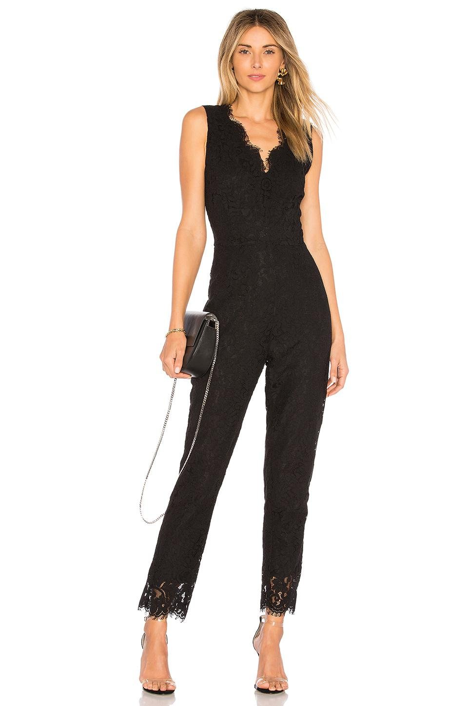 b3c0cf603b95 Lyst - Cupcakes And Cashmere Evita Jumpsuit in Black