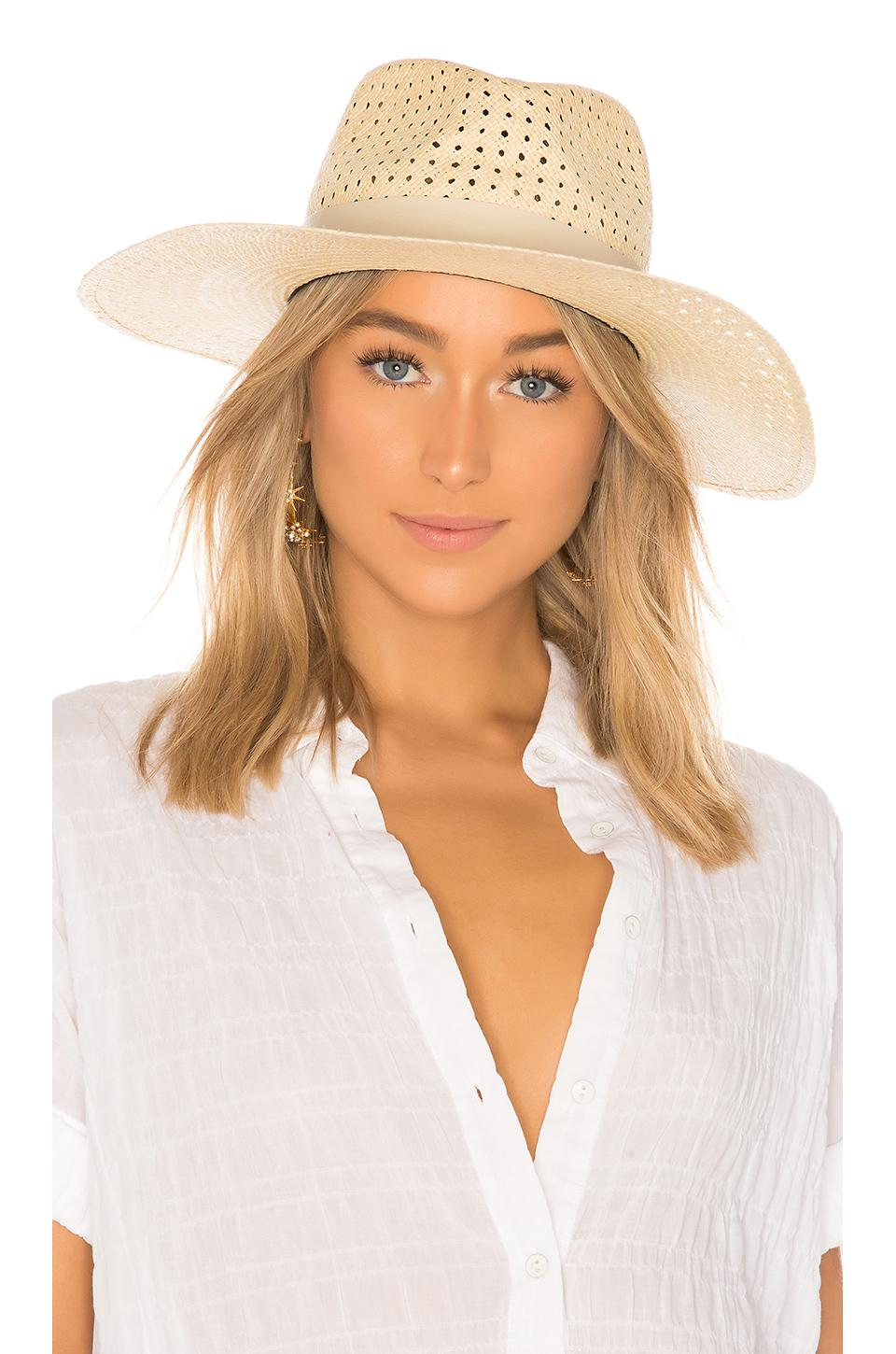 c61c5f7beab03 Rag   Bone Lacey Wide Brim Panama Hat in Natural - Lyst