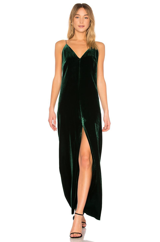 Lyst - Bcbgmaxazria Mallory Long Tank Dress In Dark Amazon in Black