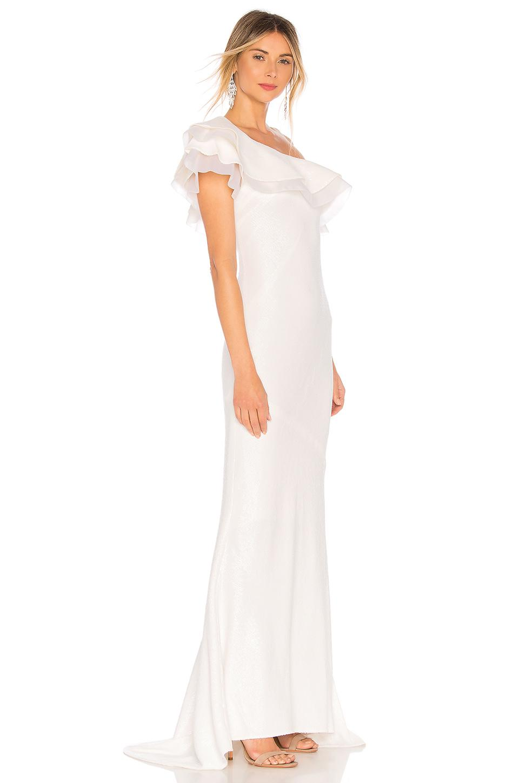 Lyst - Rachel Zoe Lizette Gown in White