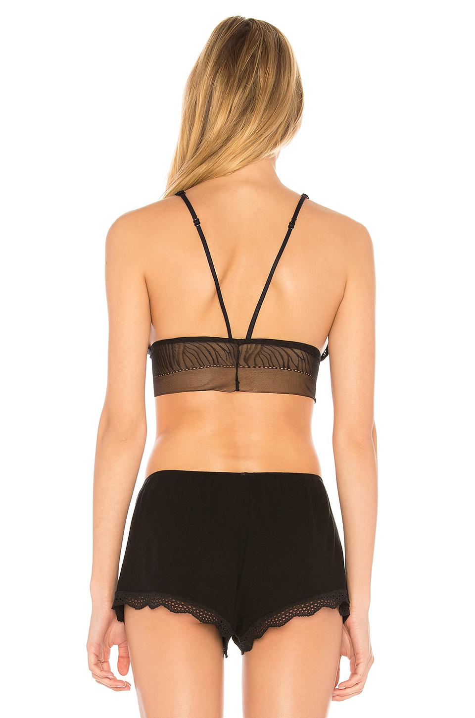 cfa09f5585 Lyst - Free People Can t Be Tamed Soft Bra in Black
