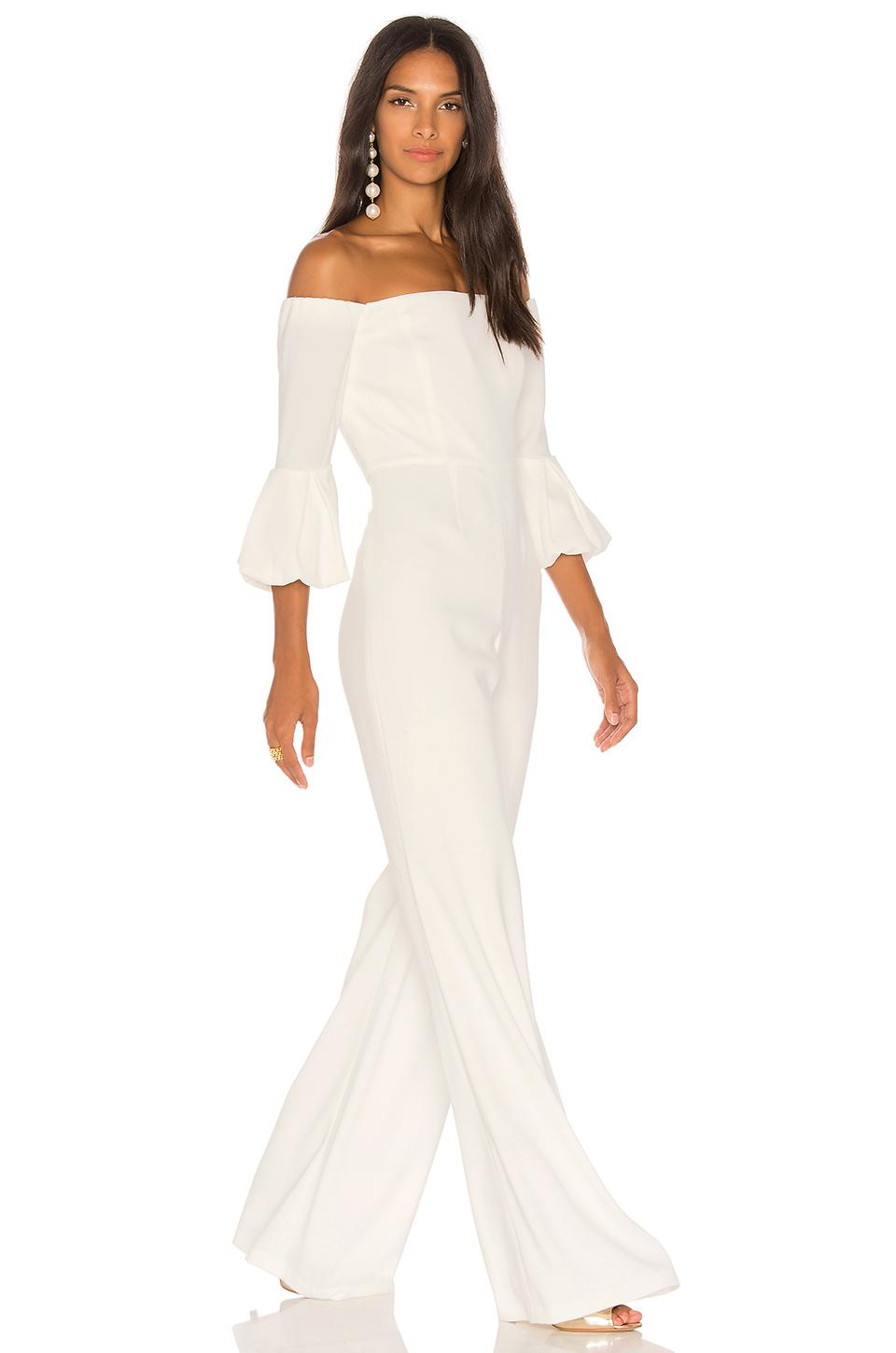 6a9e010e06c Jay Godfrey Griffith Jumpsuit in White - Lyst