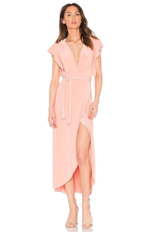 Lyst Misa Irina Dress In Pink