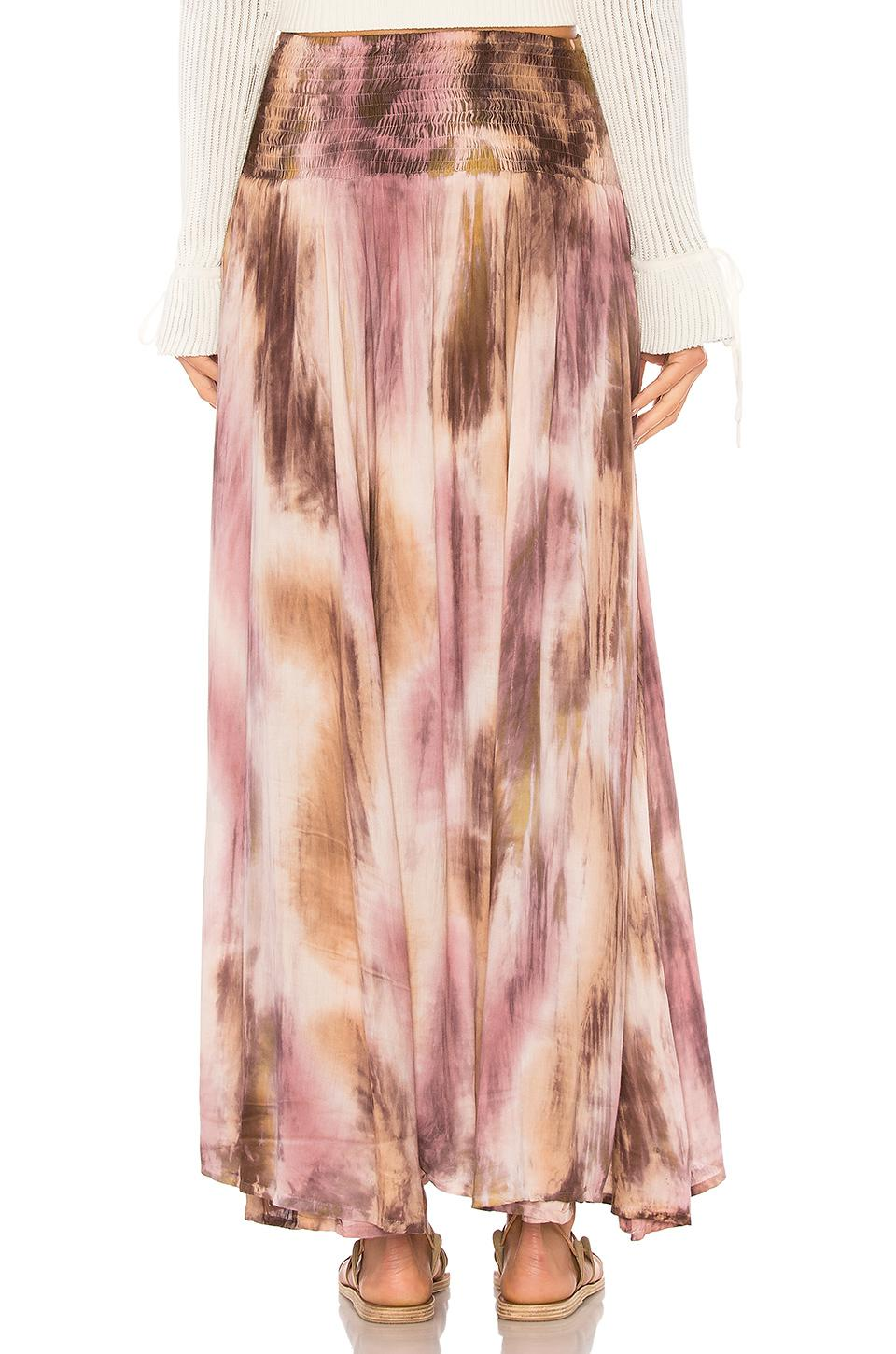 Rock Your Soul Maxi Skirt in Mauve Tiare Hawaii Best Authentic m69pc4PG