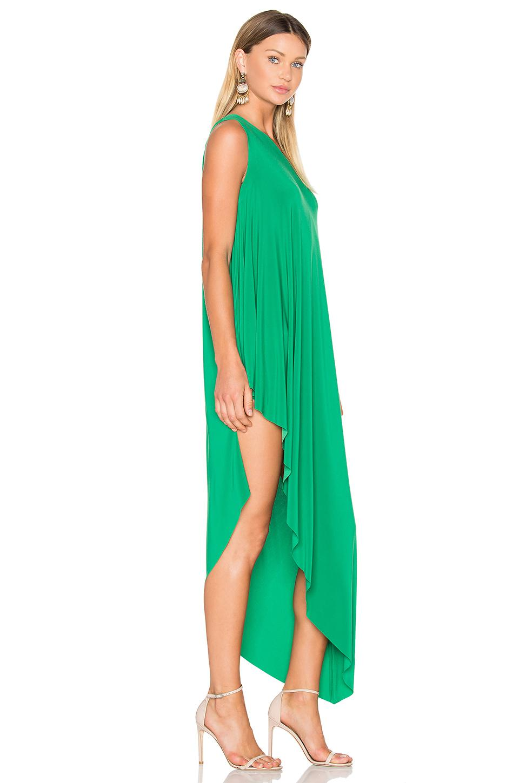 504c62eff681c Lyst - Norma Kamali Diagonal Tunic in Green