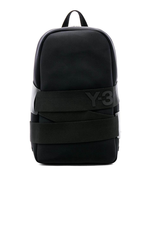 e164444b07 Y-3 Qrush Backpack in Black for Men - Lyst